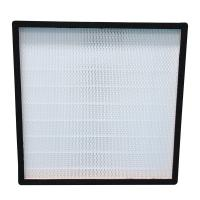 Buy cheap Mini Deep Pleated Stainless Steel Hepa Filter H13 H14 High Efficiency Particulat from wholesalers