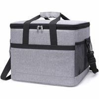 China 30L Insulated Food Cooler Bags 50- Can Soft Sided For Beach / Picnic / Camping wholesale