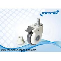 China Heavy Duty Locking Casters Hospital Bed Casters Linkage Mechanism Design wholesale