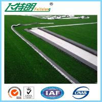 China Green Garden Artificial Grass Turfing Surface Realistic 67200 Stitches / Sqm on sale