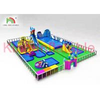 Quality Custom Outdoor Multitheme Inflatable Water Slide Park For Play Centre for sale