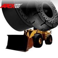 China APEX 16.00-25 Solid Tire, Cushion Tyre for Wheel Loader, Integrated Tool Carrier, Elevating Motor Scraper wholesale