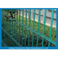 China Double Green Pvc Coated Wire Mesh Fencing For Country Border XLS-05 wholesale