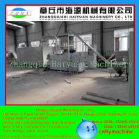 China Shandong Factory price dry extruder floating fish feed pellet machine for fishery India wholesale
