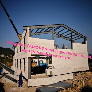 Buy cheap Prefab House Light Steel Villa Prefab Metal Buildings With Welded Frame from wholesalers