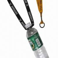 China Bottle holder lanyard with carabiner  wholesale