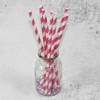 China 6mm 8mm 10mm longth red yellow white color bamboo paper drinking straws fancy straws for drinks wholesale