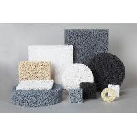 China SIC Ceramic Reticulated Foam Filter Dark Grey Colour For Metal Foundry Industry wholesale