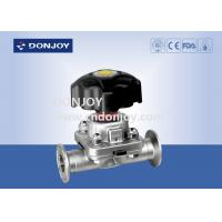 China 1 inch - 4 inch 316L Manual or Pneumatic Sanitary Diaphragm Valve with EPDM PTFE wholesale