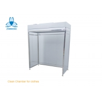 China SS304 Frame Clean Room Equipment With Anti Static PVC Curtain wholesale