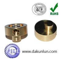 China Eccentric Wheels with Gauge-qualified Thread Testing, Made of Brass/Copper Materials wholesale