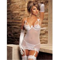 China Sheer Gartered sexy Lingerie wholesale