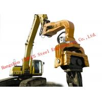 Buy cheap 360 Degrees Rotation Device Hydraulic Vibratory Hammer Machine For Construction Foundation from wholesalers