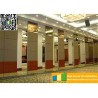 Commercial Sliding Partition Walls Office Aluminum Wall Divider Panels Separation Manufactures