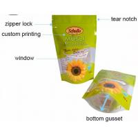 China Plastic Ziplock Stand Up Pouches , Small Zip Lock Bags Waterproof on sale