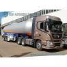 Buy cheap 12 Wheels 56KL LPG Semi Trailer , 3 Axles LPG Transport Truck 1.61MPa Pressure from wholesalers