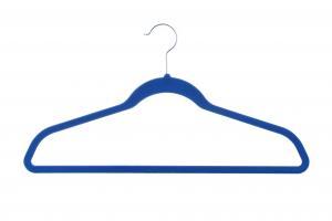 China 17 Inch 100 Pieces Velvet Suit Hangers wholesale