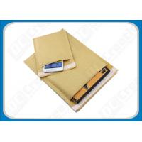 China Light Weight Glossy Brown Kraft Bubble Mailers , Printed Padded Bubble Mailing Bags wholesale