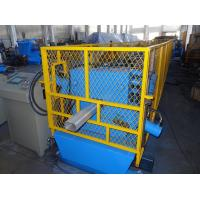 China Hydraulic Cutting Type Downspout Roll Forming Machine For Square Shape Down Pipes wholesale