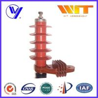 China 5KA Color Customized Polymer Surge Arrester Without Gap , 54KV Rated Voltage wholesale
