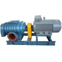 China High pressure Horizontal  Tri-lobe Roots Blower for filter system 0.6bar  58.8kpa 132kw wholesale