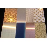 China Stainless Steel decorative Sheet / Plate aisi201 304 316 wholesale