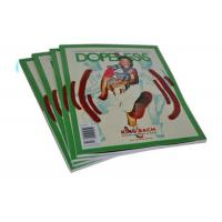 China Full Color Art Paper Custom Magazine Printing Saddle Stitch Magazine Printing wholesale