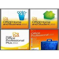 China Microsoft Office 2010 professional Product Key Card PKC For FPP Online active on sale