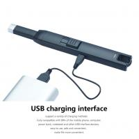 China Plasma USB Rechargeable Lighter Usb Powered Flameless Electric Arc Lighter wholesale