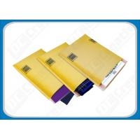 China Multitude Air Cellular Bubble Envelopes , Kraft Bubble Mailers with Hanging Holes wholesale