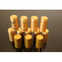 China PVC heat shrink capsules for olive oil bottle PVC Shrink Sleeve Capsule for Olive Oil Bottle Cap on sale
