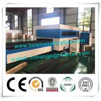 China Exchangeable Worktable CNC Fiber Laser Cutting Machine , CNC Plasma Cutting Machine wholesale