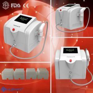 China Portable equipment Fractional RF microneedle / micro needle skin tightening machine / acne scar on sale