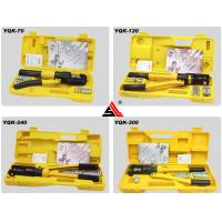 China YQK-70 Hydraulic Cable Lug Crimping Tool With Automatis Safety Set For Crimping Terminal wholesale