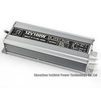 China Friendly Design 12vdc 100w Power Supply Outdoor Output Low Ripple / Noise wholesale