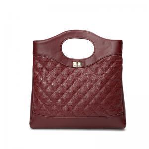 China China Supplier Personality And Fashion Felt Bags Handbags Women Genuine Woman Leather Handbags With  Custom Logo on sale