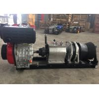 Tower Erection Tools 5 Ton Speedy Diesel Engine Wire Rope Winch For Cable Pulling Manufactures