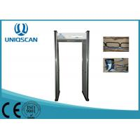 6 Zone Security Walk Through Gate , UB500 Body Scanner Metal Detector OEM Manufactures