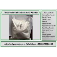 China Raw Testosterone Enanthate Powder , Test Enanthate Muscle Building Steroids CAS 315-37-7 wholesale