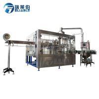 China 0.3 - 2L Aseptic Carbonated Soft Drink Filling Machine wholesale