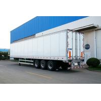 China Truck Refrigerated Tractor Trailer Reefer Custom Cargo Trailers High Wall Thickness wholesale