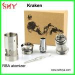 China Rebuildable Kraken atomizer mechanical mod DIY atomizer cloutank atomizer wholesale