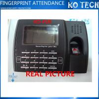 China Linux OS Supported Fingerprint Time Attendance with Software FU8 wholesale