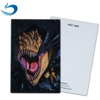 China Customized 3D Lenticular Postcard For Holiday Decoration Gift CMYK Printing wholesale