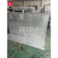 China Protable Steel Eent Crowd Control Barrier / Foldable Aluminum Barricade wholesale