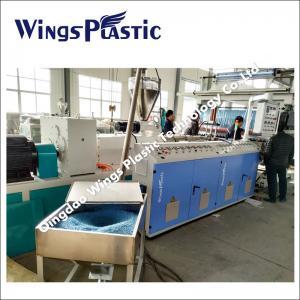 China Non - Slip PVC Coil Mat Carpet With Vinyl Loops Making Machine wholesale