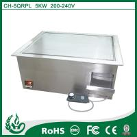 China Chuhe stainless steel built in griddle cooker with 220v wholesale