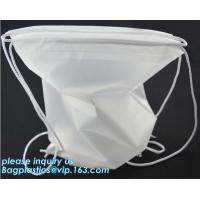 China Washable Biodegradable Laundry Bags Drawstring Household Cleaning on sale