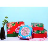 China Chinese Traditional Style Custom Paper Gift Box With Brightly Painted wholesale