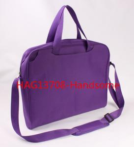 China Purple color briefcase promotion shoulder bags-HAG13708 wholesale